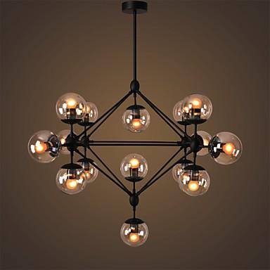 Gl Ball Lights Retro Living Room