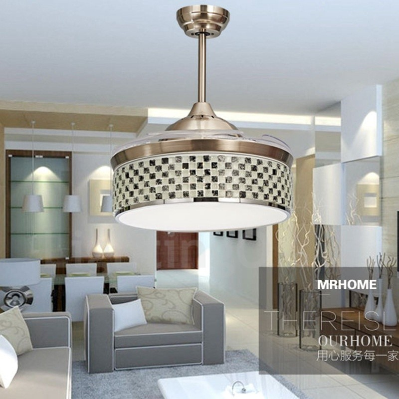 Modern Contemporary Invisible Ceiling Fan Ceiling Fans Lightingo
