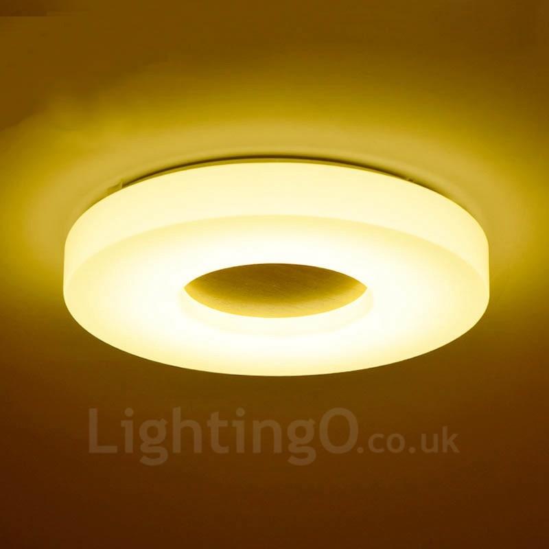 12w modern contemporary flush mount ceiling lights with acrylic 12w modern contemporary flush mount ceiling lights with acrylic shade for bathroomliving room aloadofball Gallery