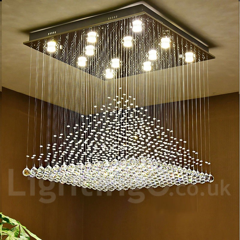 Crystal Ceiling Pendant Light Indoor