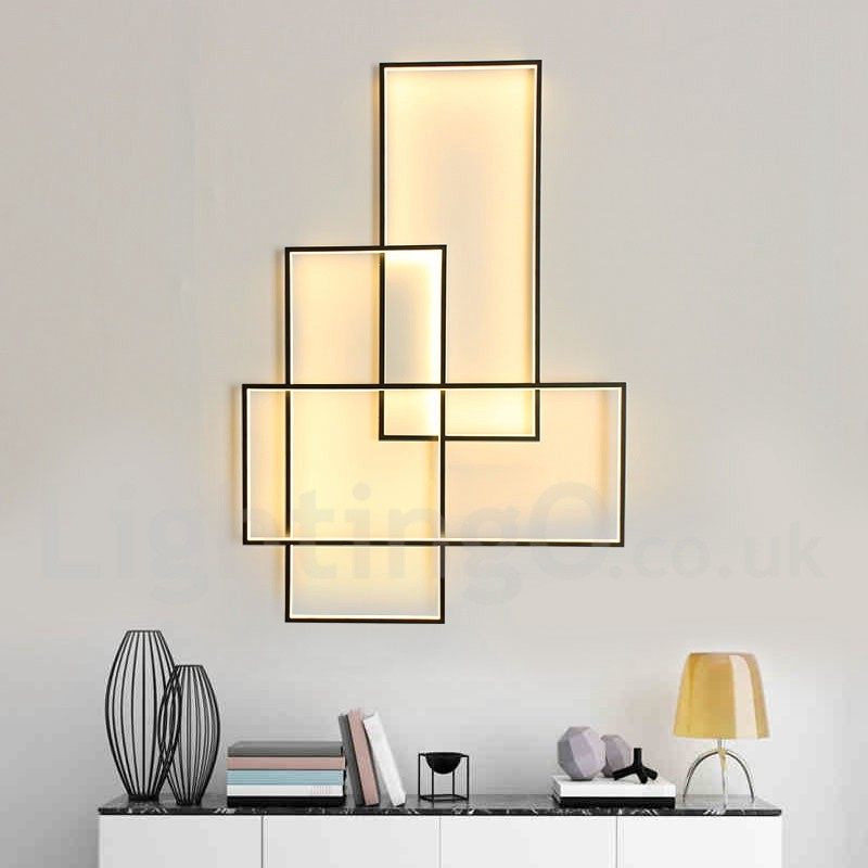 LED Modern /Comtemporary Alumilium Painting Ceiling Light ...