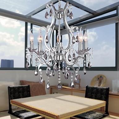 Max 40W Traditional/Classic Chrome Chandeliers Living Room ...